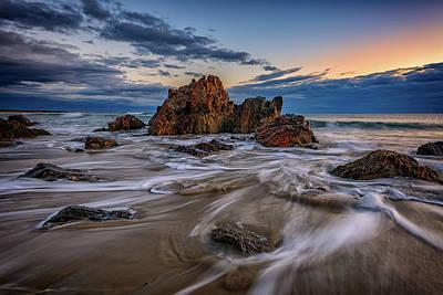 Photograph - Receding Tide In Ogunquit by Rick Berk