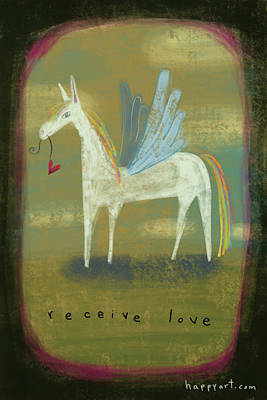 Painting - Receive Love by Marti McGinnis