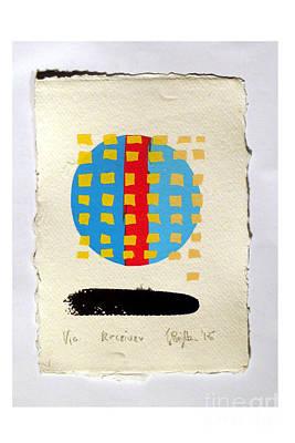 Receiver. Art Print by Timothy Beighton
