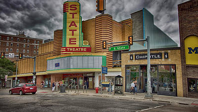 Photograph - Remodeled State Theatre by Pat Cook