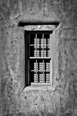 Photograph - Recessed Window - Santa Fe by Stuart Litoff