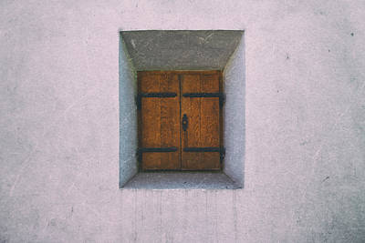 Photograph - Recessed Window Sighisoara by Adam Rainoff