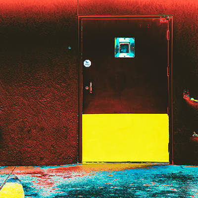 Door Photograph - Recidivate by Lee Harland