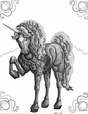 Reckoning Art Print by George I Perez