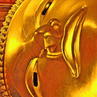 Reclining Buddha. Thaisq. Siam Texture. Original by Andy Za
