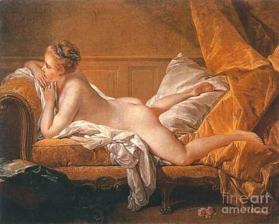 Reclining Nude 1752 Art Print