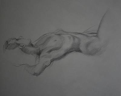 Reclining Nude Original