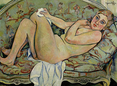 Painting - Reclining Nude by Mountain Dreams