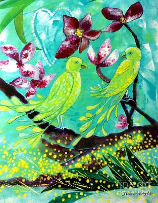 Painting - Recognition by Julie Hoyle