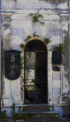 Recoleta Door Art Print