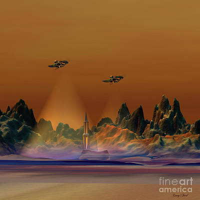 Recon Art Print by Corey Ford