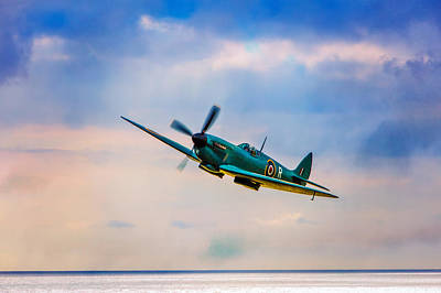 Photograph - Reconnaissance Spitfire by Chris Lord