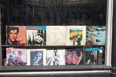 John Mayall Photograph - Record Store Burlington Vermont by Edward Fielding