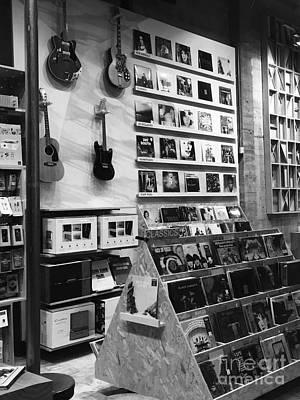 Photograph - Record Store by Jenny Revitz Soper