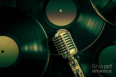 Recording Studio Art Art Print