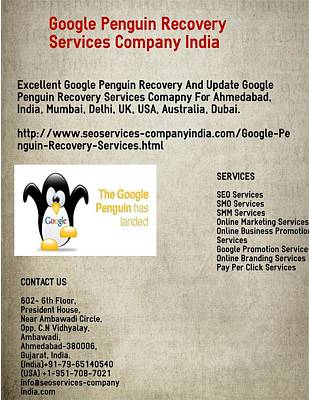 Update Digital Art -  Recovery Services Company India by Google Penguin Recovery Services Company India