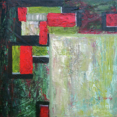 Painting - Rectangles by Carolyn Jarvis