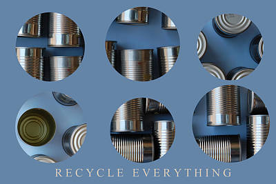 Photograph - Recycle Everything by George Olney