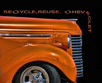 Recycle Art Print by Kevin  Sherf