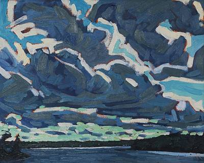 Painting - Recycled Clouds by Phil Chadwick