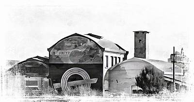 Photograph - Recycling Warehouses Castiglione Del Lago by Dorothy Berry-Lound