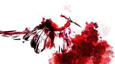 Red -1 Art Print