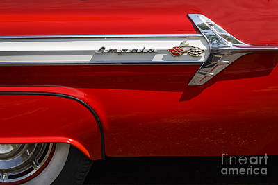 Photograph - Red '61 Impala by Dennis Hedberg
