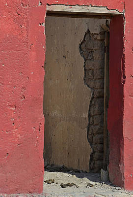 Photograph - Red Adobe by Nadalyn Larsen