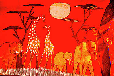 Photograph - Red Africa by Rick Bragan