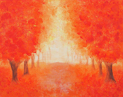 Painting - Red Alley by Iryna Goodall