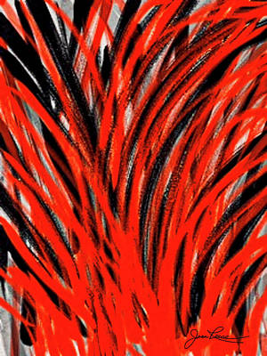 Painting - Red And Black by Joan Reese