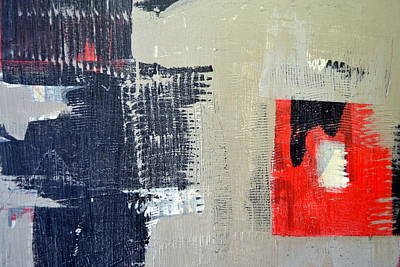 Painting - Red And Black Study 2.0 by Michelle Calkins