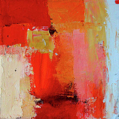 Painting - Red And Gold by Nancy Merkle