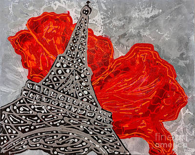 Painting - Red And Grey by Sheila McPhee