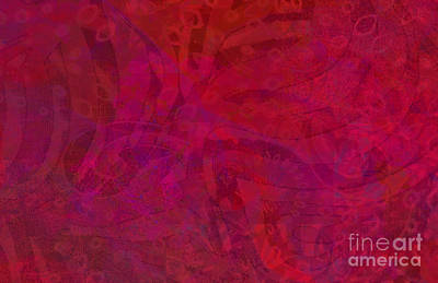 Photograph - Red And Purple by Nareeta Martin