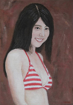 Painting - Red And White by Masami Iida