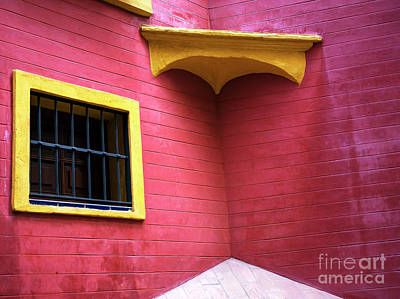 Photograph - Red And Yellow In Seville by John Rizzuto