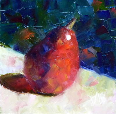 Painting - Red Anjou Arriving by Susan Woodward