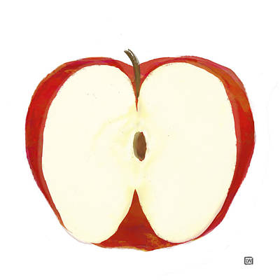 Painting - Red Apple II by Lisa Weedn