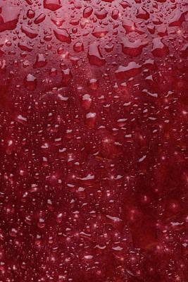 Red Apple Skin Art Print