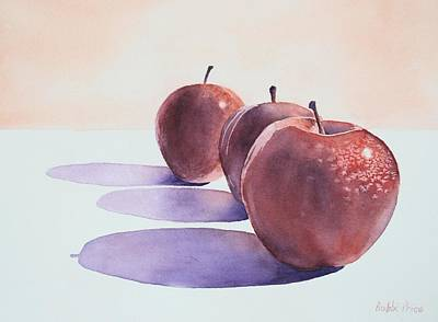 Painting - Red Apples by Bobbi Price