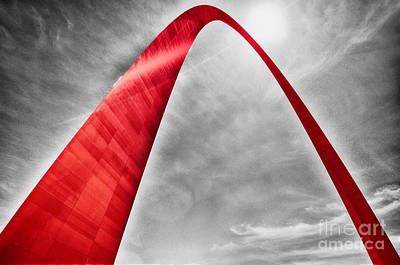 Photograph - Red Arch  by Rachel Barrett