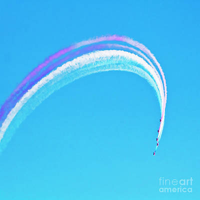 Photograph - Red Arrow Rainbow by Terri Waters