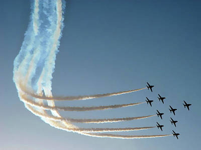 Red Arrows - 1 Art Print