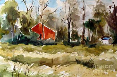 Red As In Barn Vermillion Art Print