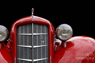 Photograph - Red Auburn by Dennis Hedberg