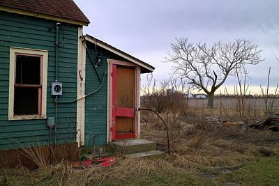 Photograph - Red Back Door by Scott Kingery
