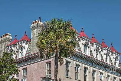 Photograph - Red Ballon Top Dormers by Dale Powell