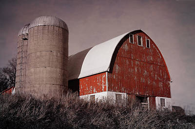 Photograph - Red Barn 2 by Susan McMenamin