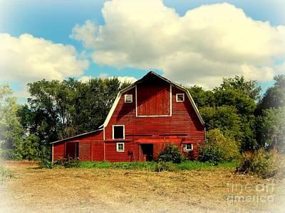 Modern Man Surf - Red Barn, Abandoned by Curtis Tilleraas